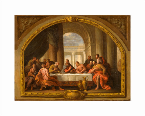 Sketch for 'The Last Supper,' St. Mary's, Weymouth by Sir James Thornhill