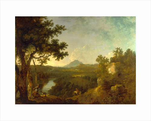 View near Wynnstay by Richard Wilson