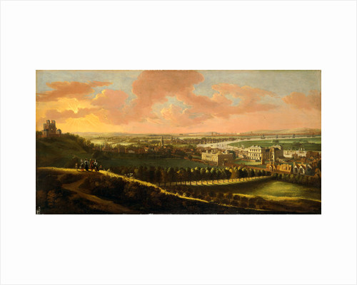 Greenwich, with London in the distance View of London from Greenwich Hill by Anonymous