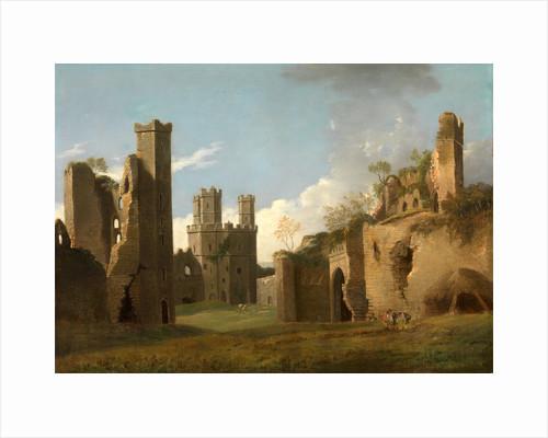 Caernarvon Castle by Joseph Farington