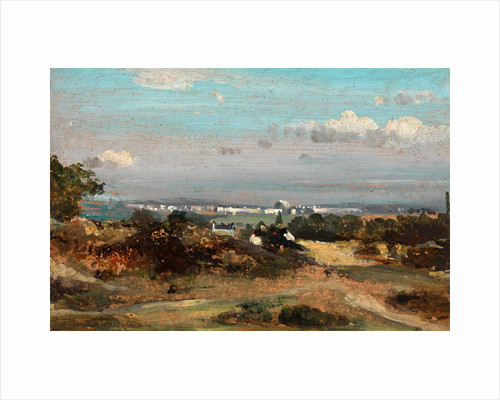 A View in Suffolk by Frederick W. Watts