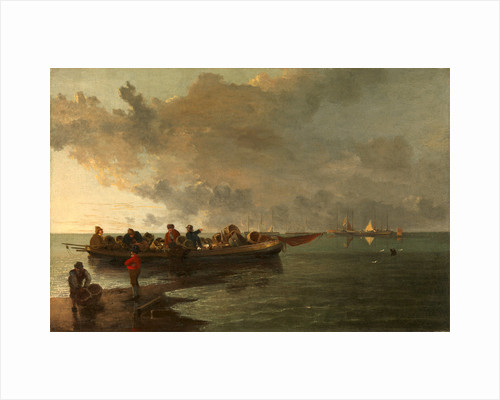 A Barge with a Wounded Soldier by John Crome