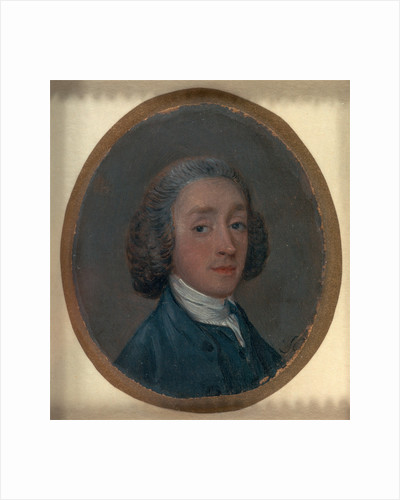 Portrait of a Young Man with Powdered Hair Possibly a self-portrait by Thomas Gainsborough
