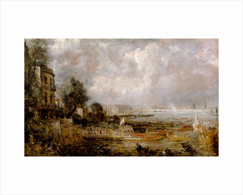 London, The Opening of Waterloo Bridge Waterloo Bridge From Whitehall Stairs by John Constable