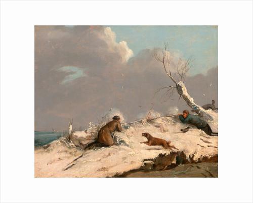 Duck Shooting in Winter by Henry Thomas Alken