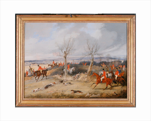 Hunting Scene: In Full Cry The Belvoir Hunt: Full Cry by Henry Thomas Alken