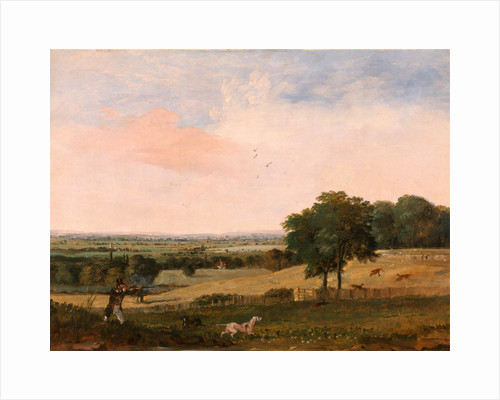 Partridge Shooting by Edward Duncan