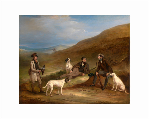 Edward Horner Reynard and his Brother George Grouse-Shooting At Middlesmoor by John Ferneley