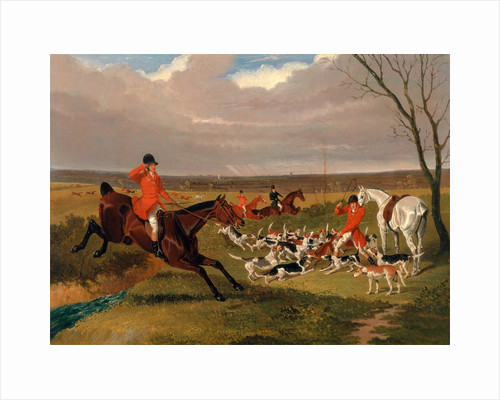 The Suffolk Hunt : The Death by John Frederick Herring