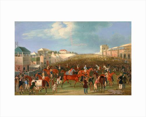 Epsom Races: The Race Over by James Pollard