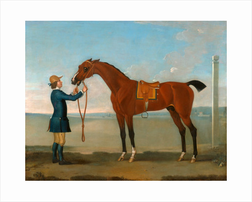 The Duke of Devonshire's Flying Childers Flying Childers with a Groom by James Seymour