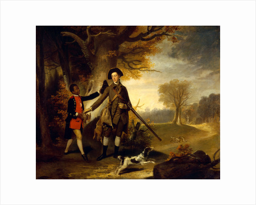 An Unknown Man, perhaps Charles Goring of Wiston, out Shooting with his Servant by Anonymous