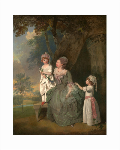 Mrs. Barclay and Her Children Mrs. Barclay and her daughters by Francis Wheatley