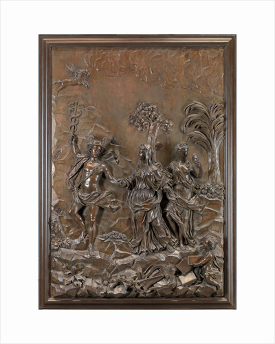 The Stowe Reliefs: Mercury conducting Tragic and Comic Poetry to the Hill of Parnassus by Michael Chuke