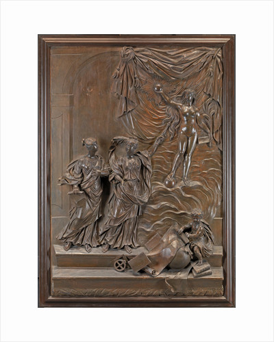 The Stowe Reliefs: Allegorical scene, possibly Truth revealing herself to the Liberal Arts by Michael Chuke