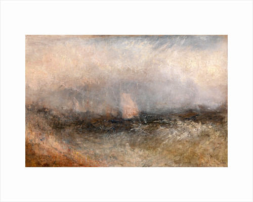 Off the Nore Squally Weather by Joseph Mallord William Turner