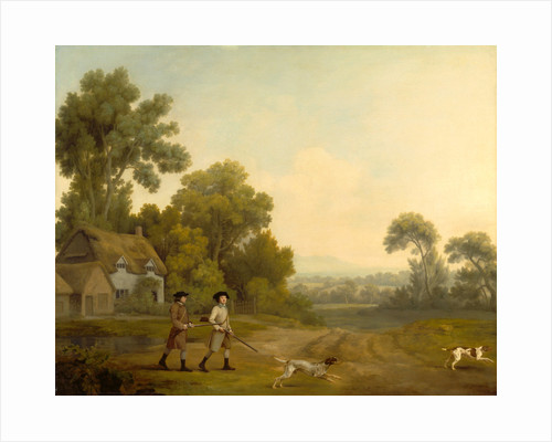 Two Gentlemen Going a Shooting Two Gentlemen out Shooting by George Stubbs