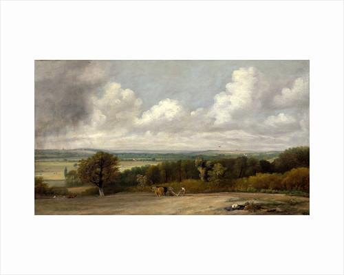Ploughing Scene in Suffolk by John Constable