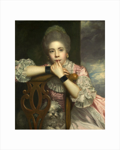 Mrs. Abington as Miss Prue in 'Love for Love' by William Congreve by Sir Joshua Reynolds