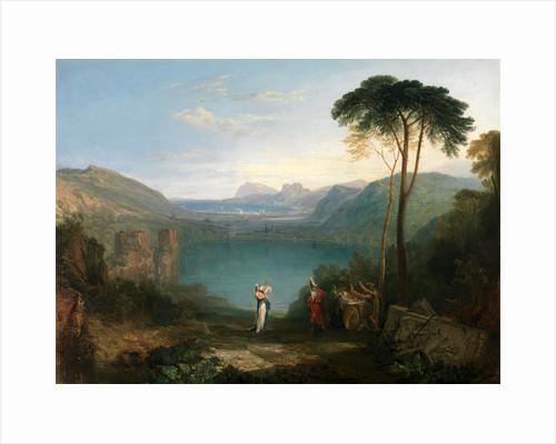 Lake Avernus: Aeneas and the Cumaean Sybil by Joseph Mallord William Turner