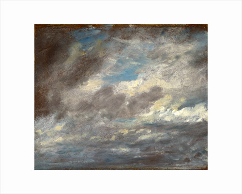 Cloud Study Wild Cloud Study by John Constable