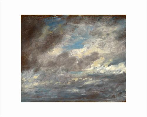 Cloud Study Wild Cloud Study by John Constable