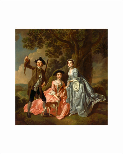 George Rogers and His Wife, Margaret, and His Sister by Francis Hayman