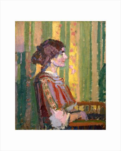 Stanislawa de Karlowska (Mrs Robert Bevan) by Harold Gilman