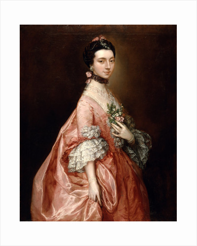 Mary Little, Later Lady Carr by Thomas Gainsborough