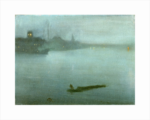 Nocturne in Blue and Silver by James McNeill Whistler