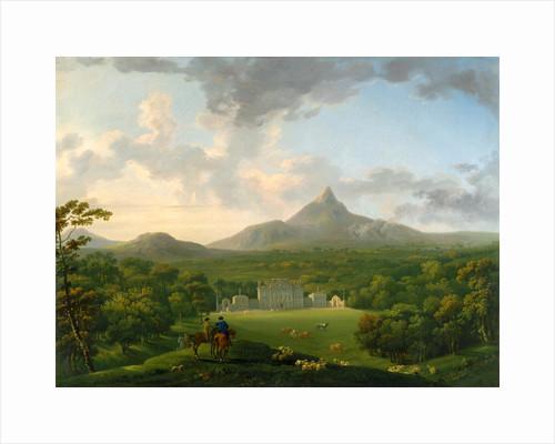 Powerscourt, County Wicklow, Ireland by George Barret