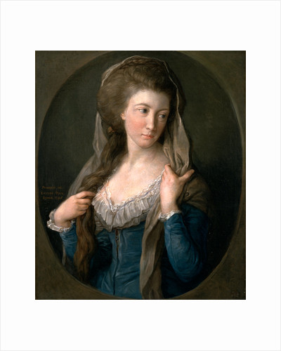 Portrait of a Woman, traditionally identified as Margaret Stuart by Pompeo Batoni