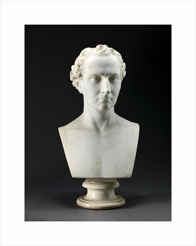 Portrait Bust of the Artist's Brother by Benjamin Gibson