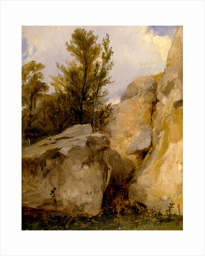In the Forest of Fontainebleau by Richard Parkes Bonington