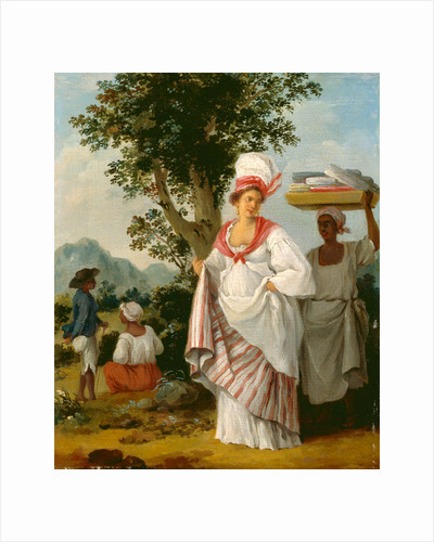 West Indian Creole woman, with her Black Servant by Agostino Brunias