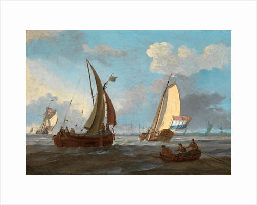 Dutch Shipping off the Low Countries by Adam Silo