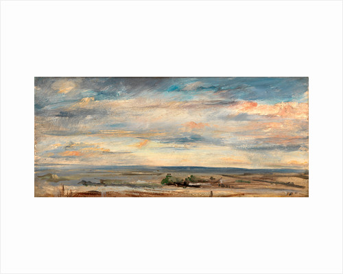 Cloud Study, Early Morning, Looking East from Hampstead by John Constable