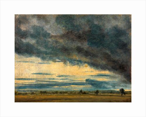 Cloud Study Evening Landscape After Rain by John Constable