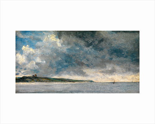 Coastal Scene with Cliffs by John Constable