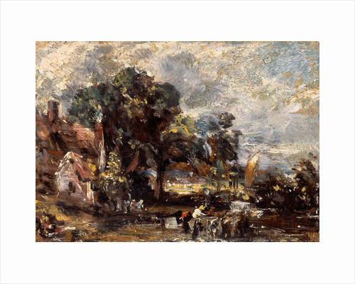 Sketch for 'The Haywain' by John Constable