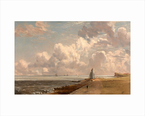 Harwich: The Low Lighthouse and Beacon Hill by John Constable