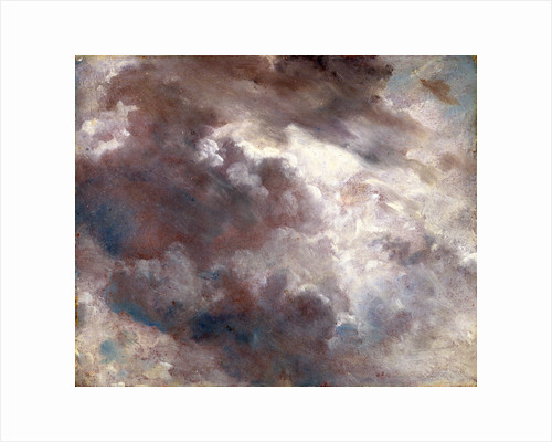 Cloud Study Dark Cloud Study by John Constable
