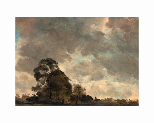Cloud Study Landscape at Hampstead by John Constable