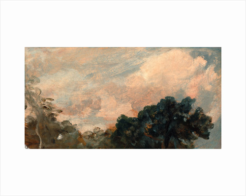 Cloud Study with Trees by John Constable