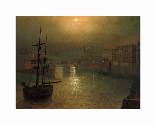 Harbor Scene by John Atkinson Grimshaw
