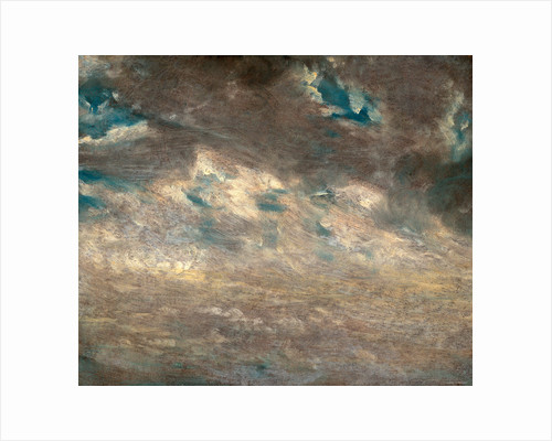 Cloud Study Study of Altocumulus Clouds by John Constable