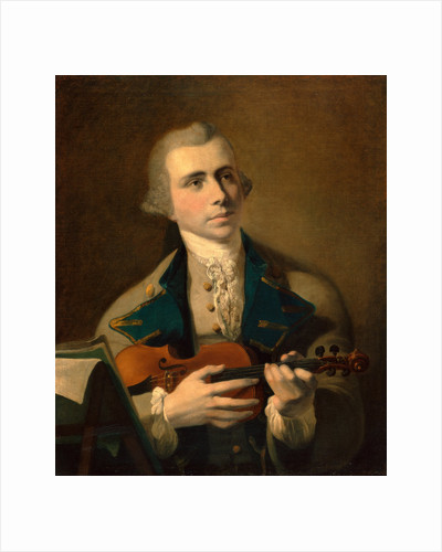 Portrait of a Man, Probably a Self-Portrait by Hugh Barron