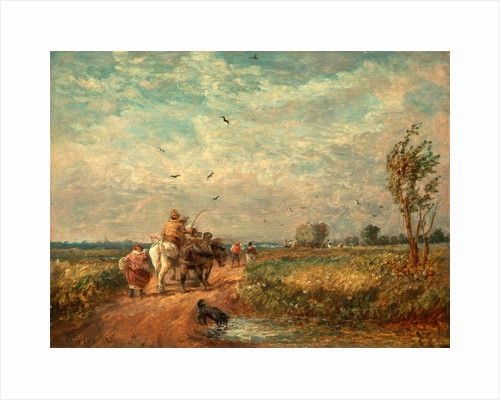 Going to the Hayfield Going Home from Haymaking by David Cox