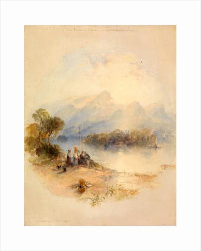 The Summer Bower, Derwent Water by Thomas Creswick