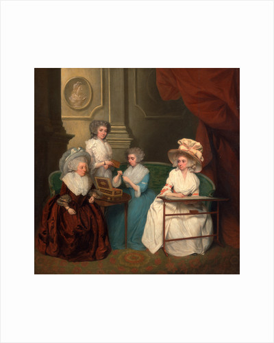 Lady Jane Mathew and Her Daughters by Anonymous